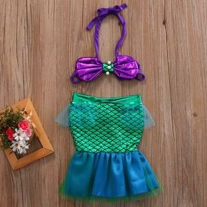 Other - Baby girl two piece mermaid outfit dress